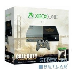 Игровая консоль MICROSOFT Xbox One 1 TB (5C7-00013) + Call of Duty: Advanced Warfare Day Zero Edition